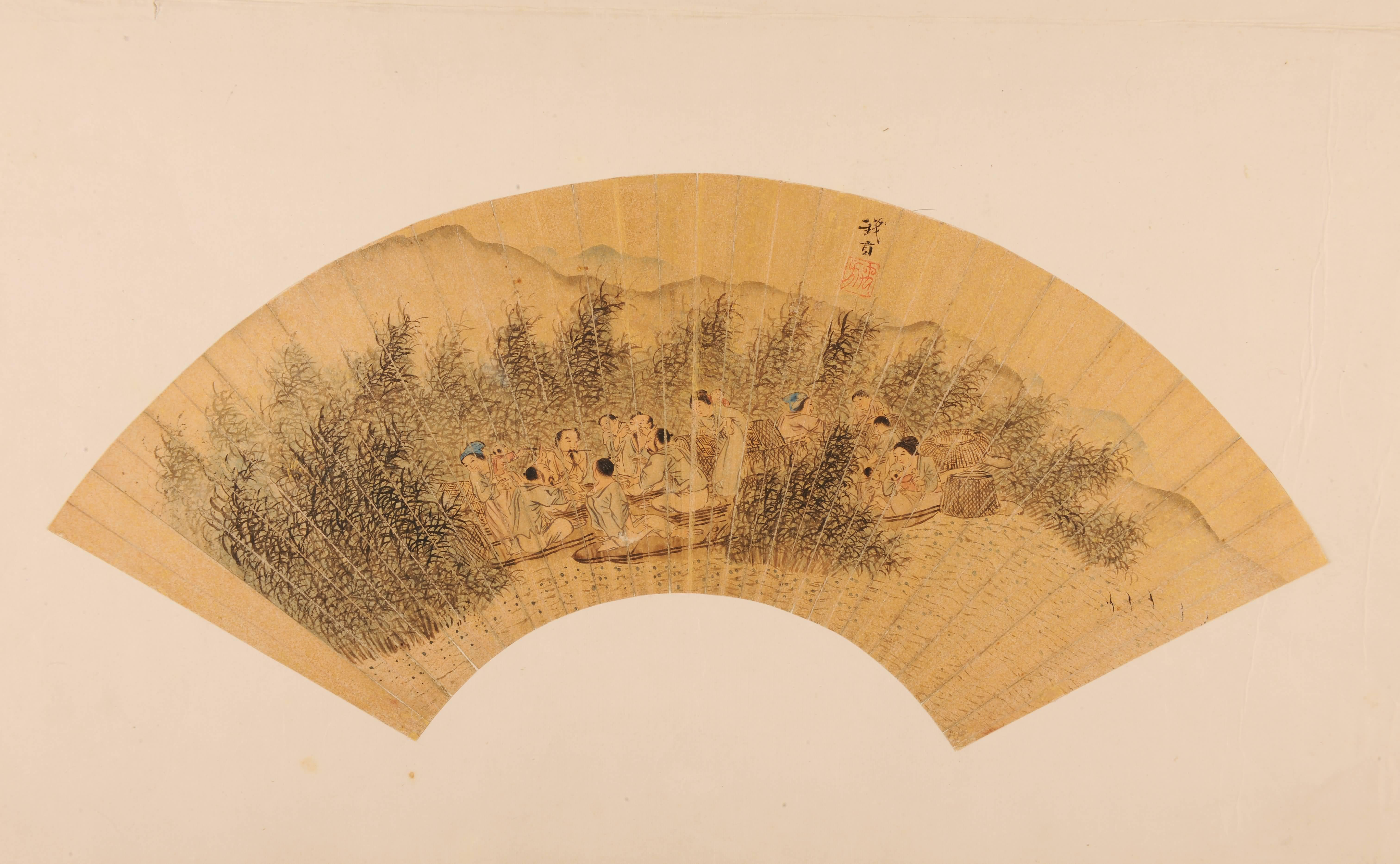明长洲(今江苏苏州)人.字服卿,号少谷,擅写意花鸟画,均别有神